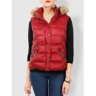 Solid Work Daytime Daily Long Sleeve Hoodie Casual Vests And Gilet